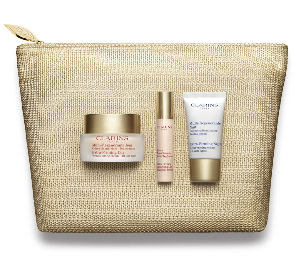 Clarins Extra-Firming Day Cream Xmas Set 2015 RGB