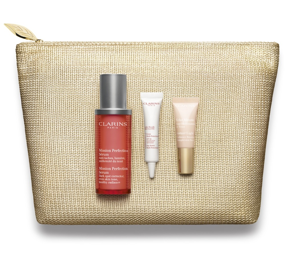 Clarins Mission Perfection Serum Xmas Set 2015 RGB