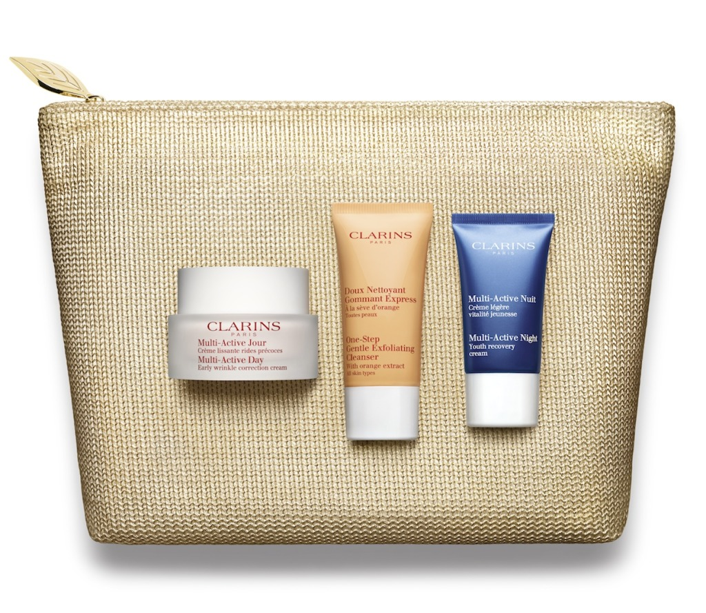 Clarins Multi-Active Day Cream Xmas Set 2015 RGB