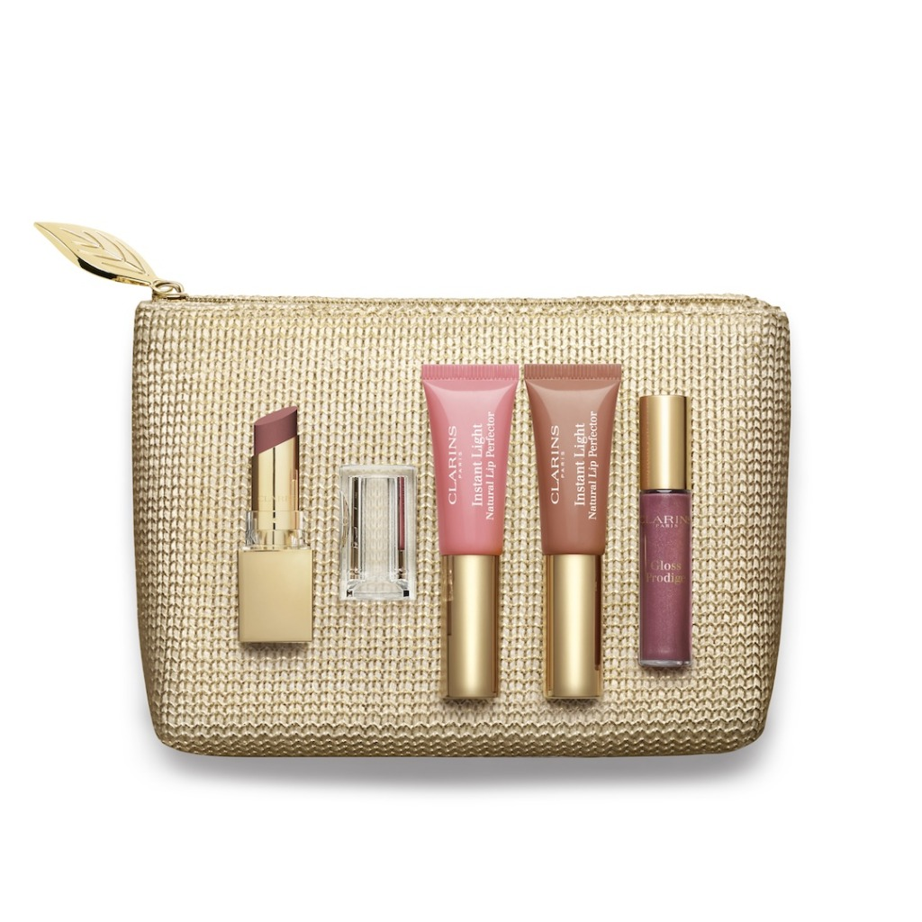 Clarins Pretty Lip Collection Xmas Set 2015 RGB